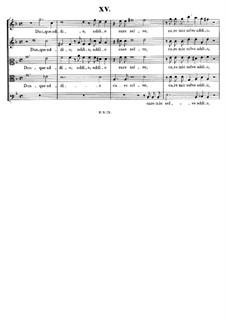 Italian Madrigals, Op.1: No.15 Dunque addio, SWV 015 by Heinrich Schütz