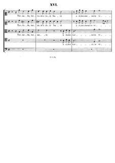 Italian Madrigals, Op.1: No.16 Tornate, o cari baci, SWV 016 by Heinrich Schütz