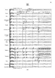 Sinfonie Nr.2 in c-Moll, Op.29: Teile III-IV by Alexander Skrjabin