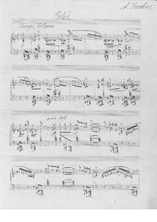 Zwei Stücke, Op.59: Nr.2 Präludium by Alexander Skrjabin