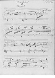 Zwei Poeme, Op.63: No.2 Étrangeté by Alexander Skrjabin