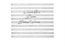 Duo für zwei Violinen: Duo für zwei Violinen by Maddalena Laura Sirmen