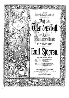 Auf der Wanderschaft, Op.15: Vollsammlung by Emil Sjögren