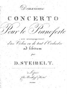 Klavierkonzert Nr.2 in e-Moll: Klavierkonzert Nr.2 in e-Moll by Daniel Steibelt