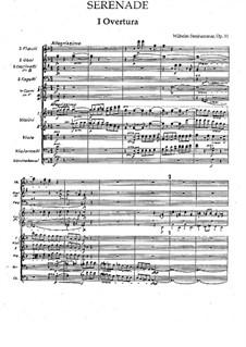 Serenade in F-Dur, Op.31: Ouvertüre by Wilhelm Stenhammar