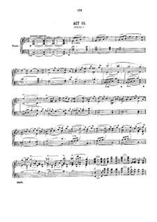 Ivanhoe: Akt III by Arthur Sullivan