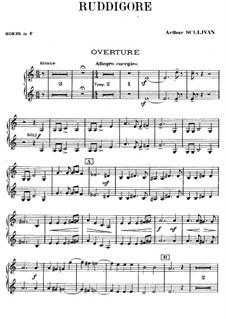 Ruddigore, or The Witch's Curse: Hörnerstimmen by Arthur Sullivan