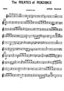 Vollständiger Oper: Oboenstimme by Arthur Sullivan