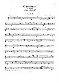 Ouvertüre zu 'Das Modell': Trompetenstimme I by Franz von Suppé