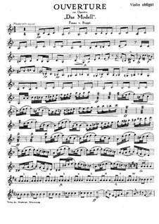 Ouvertüre zu 'Das Modell': Für Salonorchester – Violine Obbligato Stimme by Franz von Suppé