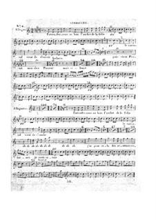 Le concert à la cour: Beckenstimme by Daniel Auber