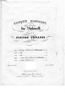 Lucia di Lammermoor: Verrando a te sull'aure, for two cellos by Gaetano Donizetti