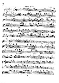 Ouvertüre zu 'Le jeune Henri': Flötenstimme by Étienne Méhul