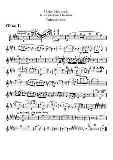 Fragmente: Introduktion – Oboenstimmen by Modest Mussorgski