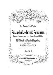 Erwartung für Cello und Klavier: Partitur by Stanisław Moniuszko