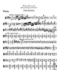 Fragmente: Introduktion – Bratschenstimme by Modest Mussorgski