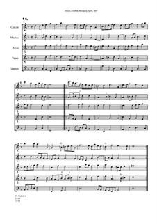 Courtly Masquing Ayres, No.14: Courtly Masquing Ayres, No.14 by John Adson