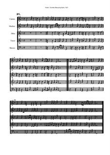 Courtly Masquing Ayres, No.21: Courtly Masquing Ayres, No.21 by John Adson