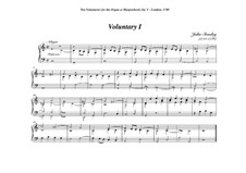 Ten Voluntaries for Organ (or Harpsichord), Op.5: Voluntary No.1 in C Major by John Stanley