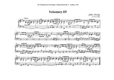 Ten Voluntaries for Organ (or Harpsichord), Op.5: Voluntary No.3 in G Major by John Stanley
