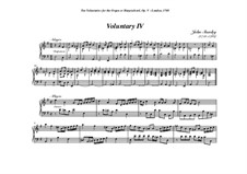 Ten Voluntaries for Organ (or Harpsichord), Op.5: Voluntary No.4 in E Minor by John Stanley