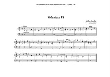 Ten Voluntaries for Organ (or Harpsichord), Op.5: Voluntary No.6 in D Minor by John Stanley