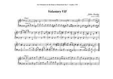 Ten Voluntaries for Organ (or Harpsichord), Op.5: Voluntary No.7 in G Minor by John Stanley