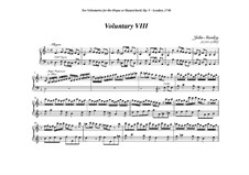 Ten Voluntaries for Organ (or Harpsichord), Op.5: Voluntary No.8 in D Minor by John Stanley