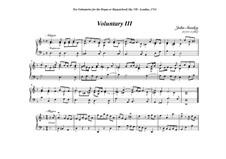 Ten Voluntaries for Organ (or Harpsichord), Op.7: Voluntary No.3 in D Minor by John Stanley