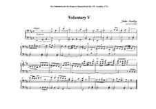 Ten Voluntaries for Organ (or Harpsichord), Op.7: Voluntary No.5 in D Minor by John Stanley