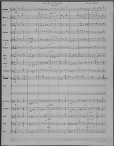 The Directorate: Vollpartitur by John Philip Sousa