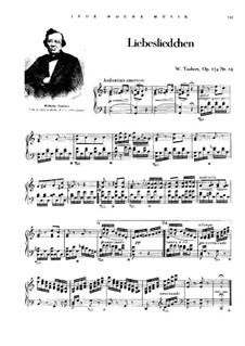 Liebesliedchen: Liebesliedchen by Wilhelm Taubert