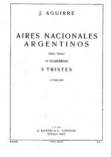Aires Nacionales Argentinos: Aires Nacionales Argentinos by Julian Aguirre