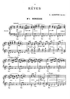 Rêves, Op.101: Vollsammlung by Isaac Albéniz