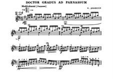 Nr.1 Doctor Gradus ad Parnassum: Für Gitarre by Claude Debussy