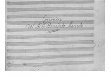 Kantate 'Cassandra' für Singstimme und Basso Continuo: Kantate 'Cassandra' für Singstimme und Basso Continuo by Benedetto Marcello