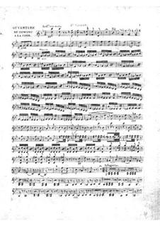 Le concert à la cour: Violinstimme II by Daniel Auber