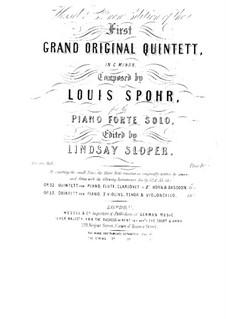 Klavierquintett Nr.1 in c-Moll, Op.53: Klavierquintett Nr.1 in c-Moll by Louis Spohr
