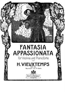 Fantasie Appassionata, Op.35: Solostimme by Henri Vieuxtemps