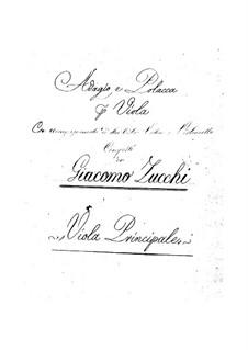 Adagio und Polonäse für Flöte und Streicher: Adagio und Polonäse für Flöte und Streicher by Giacomo Zucchi