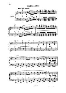 Les forains: Akt II, für Solisten, Chor und Klavier by Louis Varney
