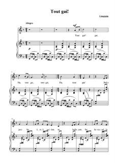 Tout gai!: Tout gai! by Maurice Ravel