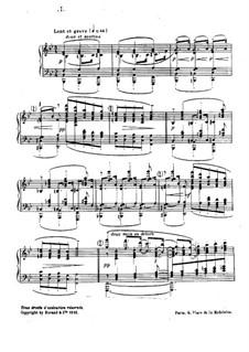 Nr.1 Tänzerinnen Delphis: Für Klavier by Claude Debussy