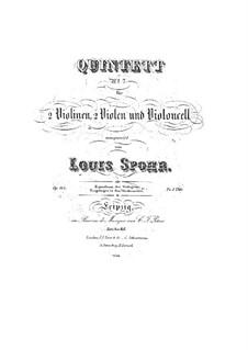 Streichquintett Nr.7 in g-Moll, Op.144: Streichquintett Nr.7 in g-Moll by Louis Spohr