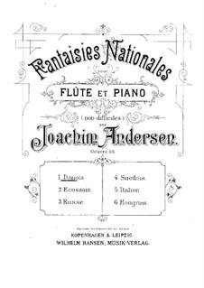 National Fantasias, Op.59: Vollsammlung by Joachim Andersen