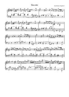 Suite in d-Moll: Gavotte by Jean-Henri d'Anglebert