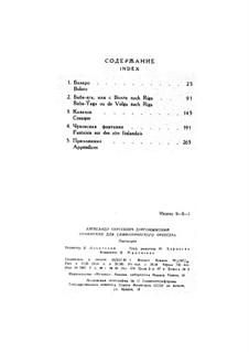 Baba-Yaga: Vollpartitur by Alexander Sergeyevich Dargomyschski