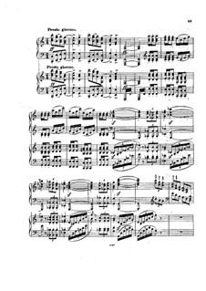 Teil III: Version für zwei Klaviere, vierhändig by Johannes Brahms
