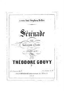 Serenade, für Klavier, vierhändig, Op.11: Serenade, für Klavier, vierhändig by Louis Théodore Gouvy