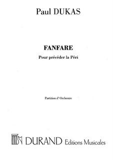La Péri: Fanfare by Paul Dukas